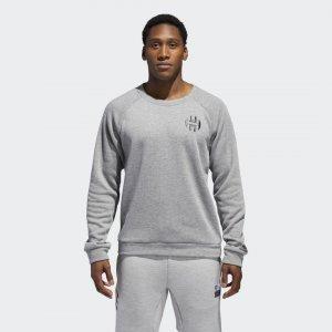 Свитшот HARDEN Performance adidas. Цвет: серый