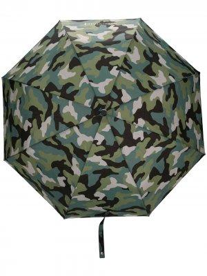 Зонт AYR с телескопической ручкой Mackintosh. Цвет: зеленый