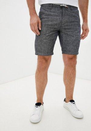 Шорты Indicode Jeans. Цвет: синий