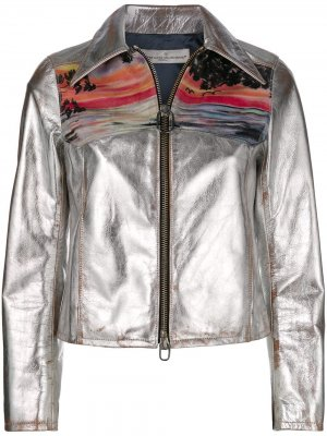 Mira sunset print jacket Golden Goose. Цвет: серый