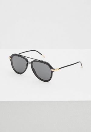 Очки солнцезащитные Dolce&Gabbana DG4330 501/87. Цвет: черный