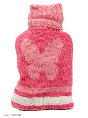 Мини-грелка для тела вязаная Aroma Home. Цвет: розовый, белый