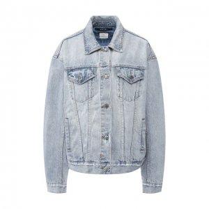 Джинсовая куртка Ksubi. Цвет: синий