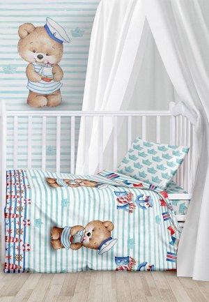 Постельное белье детское Juno. Цвет: бирюзовый