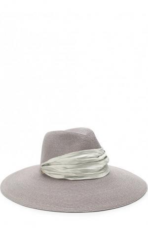 Шляпа Cassidy с лентой Eugenia Kim. Цвет: фиолетовый