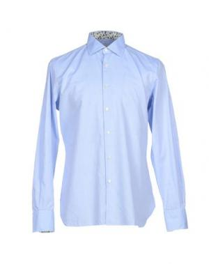 Pубашка LIBERTY London. Цвет: небесно-голубой
