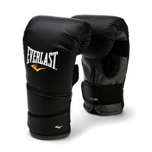 Перчатки снарядные Protex2, размер 7-8 oz Everlast. Цвет: черный