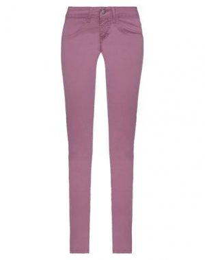 Повседневные брюки COMPAGNIA ITALIANA. Цвет: светло-фиолетовый
