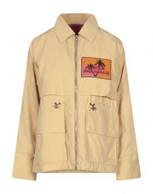 Куртка DUVETICA. Цвет: верблюжий