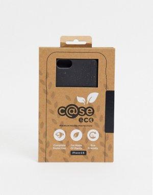 Черный биоразлагаемый чехол для iPhone 6/7/8 C@se eco premium-Бесцветный