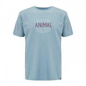 Футболка Barrel Animal. Цвет: голубой