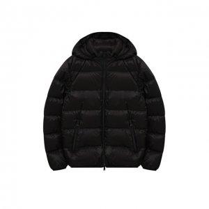 Пуховая куртка с капюшоном Herno. Цвет: чёрный