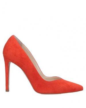 Туфли GIANNI MARRA. Цвет: оранжевый
