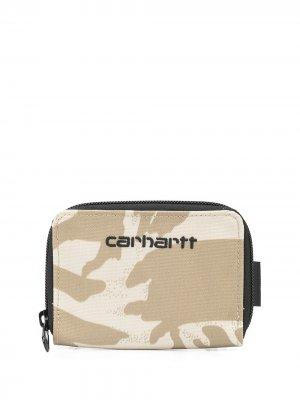 Кошелек Payton Carhartt WIP. Цвет: коричневый