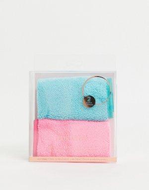 Набор из 2 салфеток для снятия макияжа -Розовый цвет Zoe Ayla