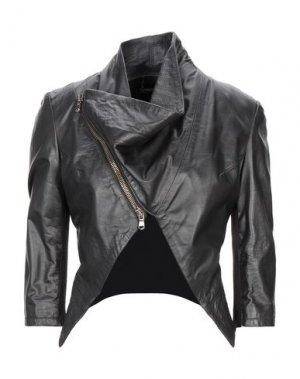 Куртка HANITA. Цвет: черный