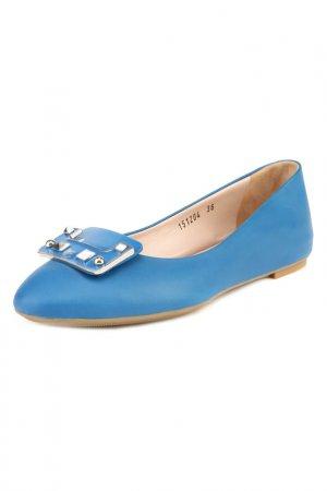 Балетки Giorgio Fabiani. Цвет: голубой
