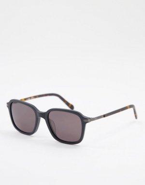Солнцезащитные очки с квадратными стеклами 2095/G/S-Черный цвет Fossil