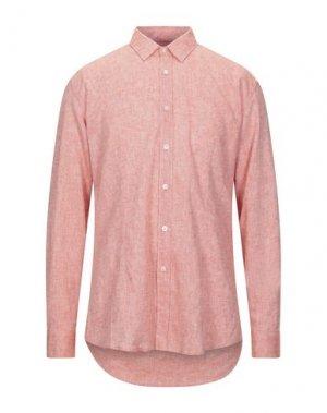 Pубашка GREY DANIELE ALESSANDRINI. Цвет: лососево-розовый