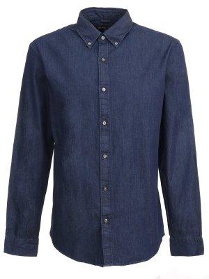 Джинсовая рубашка MICHAEL KORS. Цвет: разноцветный