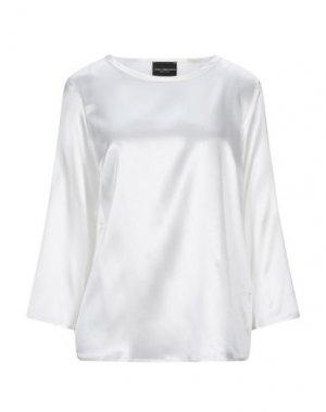 Блузка ATOS LOMBARDINI. Цвет: слоновая кость