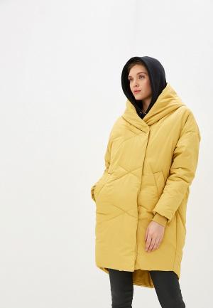 Куртка утепленная Allegri. Цвет: желтый
