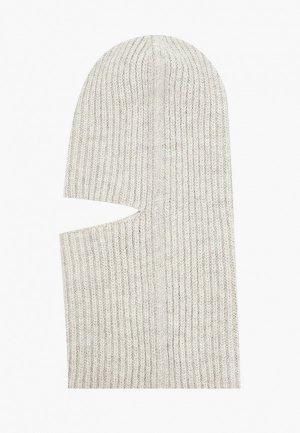 Балаклава Forti knitwear. Цвет: серый