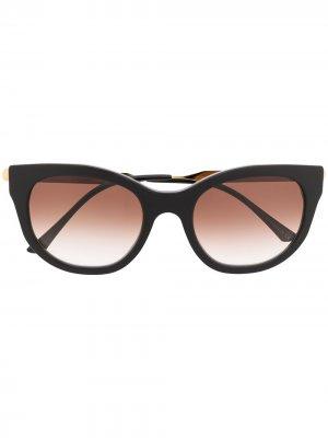 Солнцезащитные очки Lively в квадратной оправе Thierry Lasry. Цвет: черный