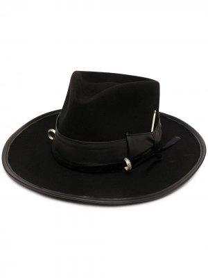 Шляпа Louise Nick Fouquet. Цвет: черный