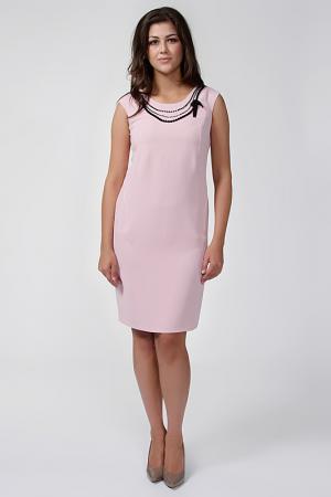 Платье GOLD. Цвет: розовый