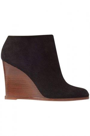 Ботинки Celine. Цвет: черный