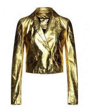Куртка 10SEI0OTTO. Цвет: желтый
