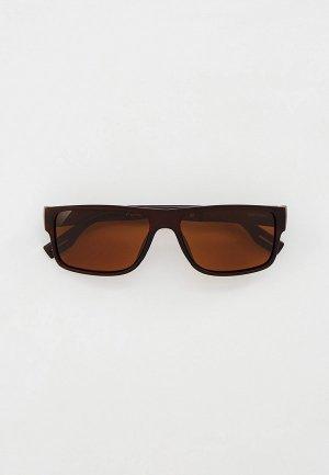 Очки солнцезащитные Greywolf GW5005, с поляризационными линзами. Цвет: коричневый