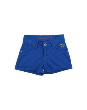 Повседневные шорты PAULINE B.. Цвет: ярко-синий