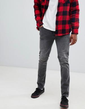 Черные суженные книзу джинсы -Черный Cheap Monday