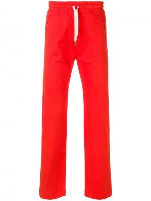 Спортивные брюки с подворотами Band Of Outsiders. Цвет: красный