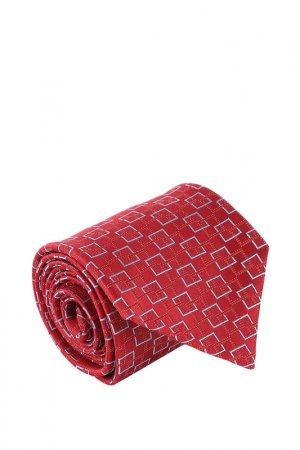 Галстук Canali. Цвет: красный