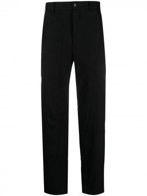 Строгие брюки с завышенной талией Black Comme Des Garçons. Цвет: черный