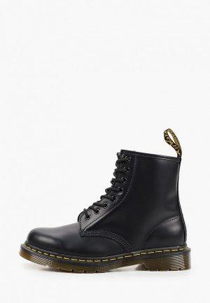 Ботинки Dr. Martens 1460 SMOOTH. Цвет: черный