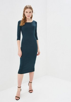 Платье GALOLBO. Цвет: зеленый