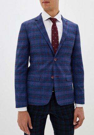 Пиджак Vincitore. Цвет: синий