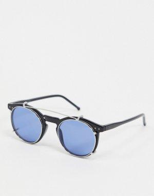 Солнцезащитные очки со съемными стеклами -Черный Jack & Jones