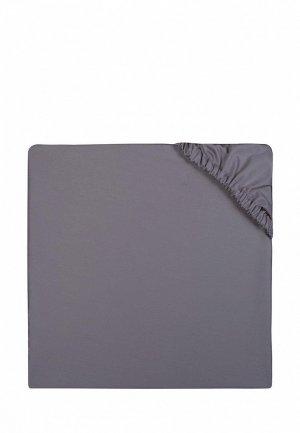 Простыня 1,5-спальная Bellehome Chocolate, 120х200x20 см