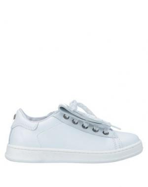 Низкие кеды и кроссовки TWINSET. Цвет: белый