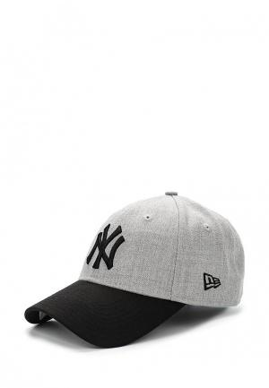 Бейсболка New Era 215 HEATHER CROWN 9FORTY NEYYAN. Цвет: серый