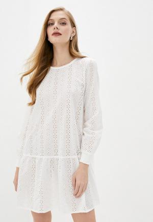 Платье b.young. Цвет: белый