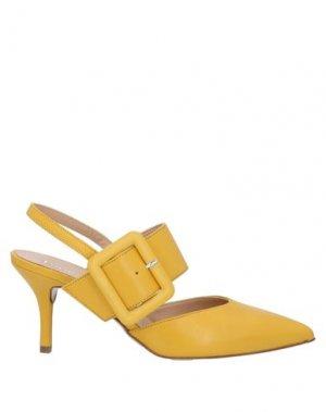 Туфли FORMENTINI. Цвет: желтый