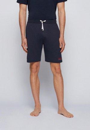 Шорты домашние Boss Authentic Shorts. Цвет: синий