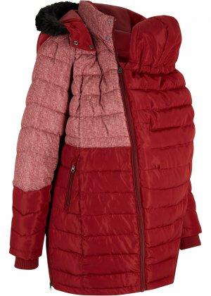 Пальто для беременных bonprix. Цвет: красный