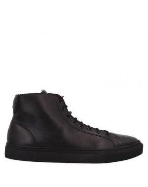 Высокие кеды и кроссовки FRANK WRIGHT. Цвет: черный